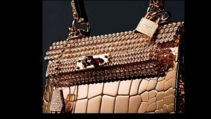 Hermes Rose Gold Crocodile